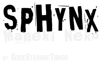 Sphynx; Maneki Neko;SomeStrangeThings; Designer Toys; Toy Art; Barcelona; Strange Stuff; Some Strange Things; sculpt; Marcos Lorenzo; Goth; Punk